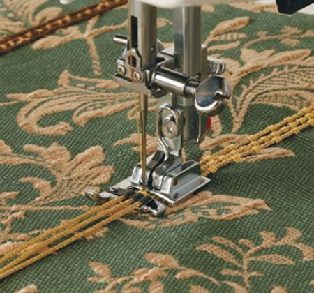 Janome 3-Way Cording Foot - A - The Village Haberdashery