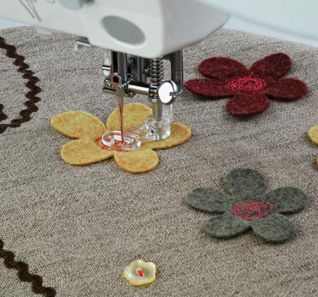Janome Embroidery/Darning Foot (Open Toe) - B - The Village Haberdashery