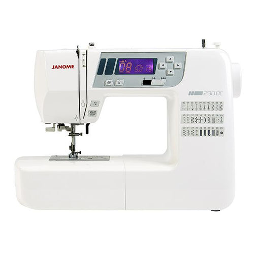 Janome 230DC Sewing Machine - MAY PREORDER - The Village Haberdashery