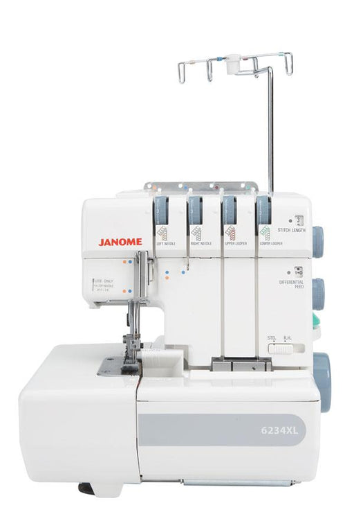 Janome 6234XL Overlocker - The Village Haberdashery