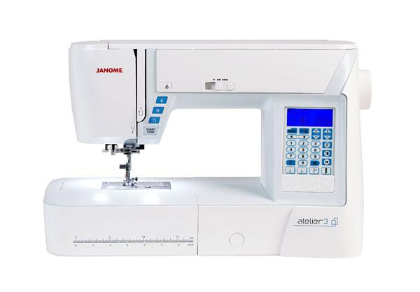 Janome Atelier 3 Sewing Machine - FEBRUARY PREORDER - The Village Haberdashery