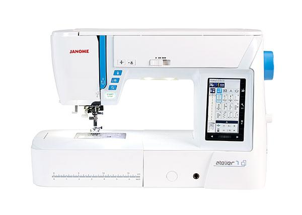 Janome Atelier 7 Sewing Machine - JANUARY PREORDER - The Village Haberdashery