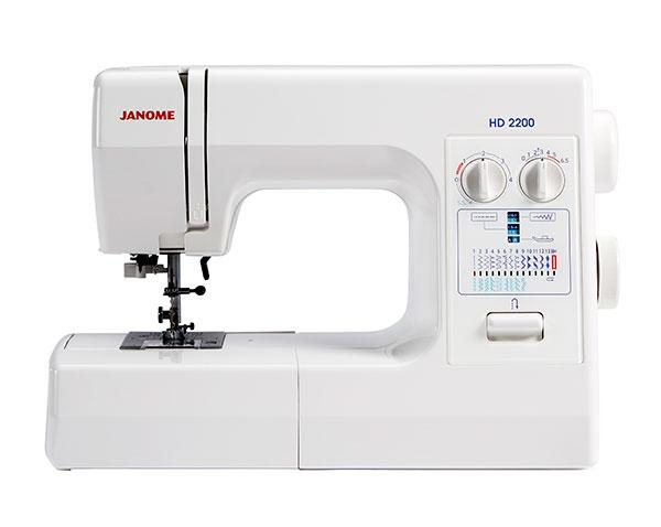Janome HD2200 Sewing Machine - FEBRUARY PREORDER - The Village Haberdashery