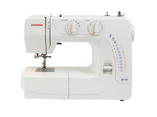 Janome J3-18 Sewing Machine - The Village Haberdashery