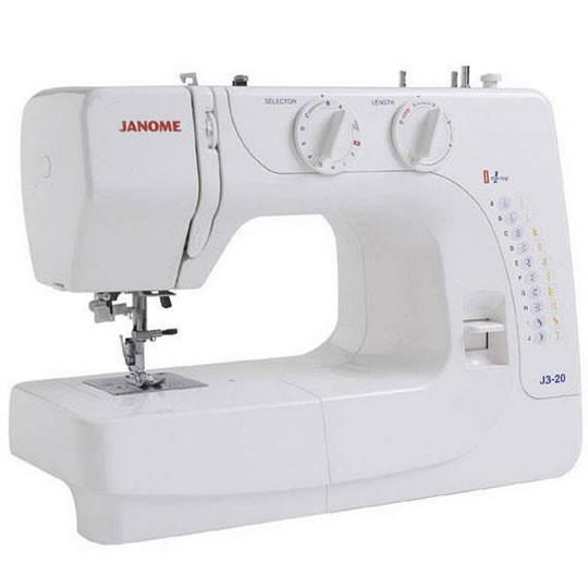 Janome J3-20 Sewing Machine - OCTOBER PREORDER - The Village Haberdashery