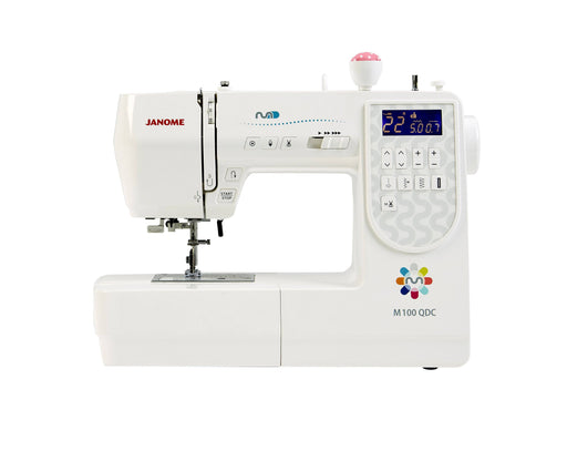 Janome M100QDC Sewing Machine - The Village Haberdashery