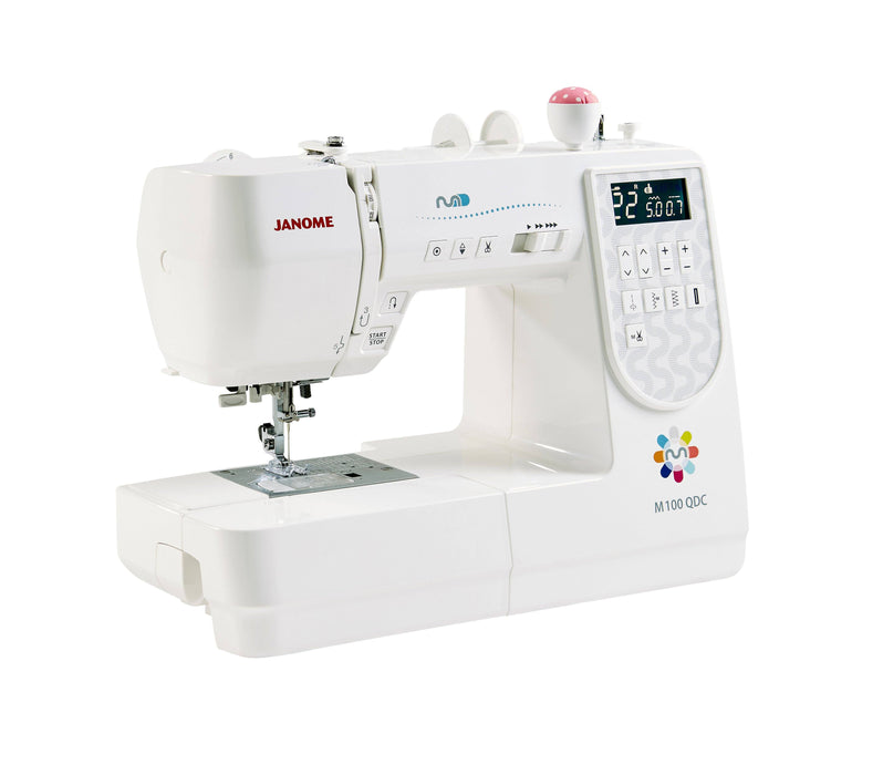 Janome M100QDC Sewing Machine - JANUARY PREORDER - The Village Haberdashery