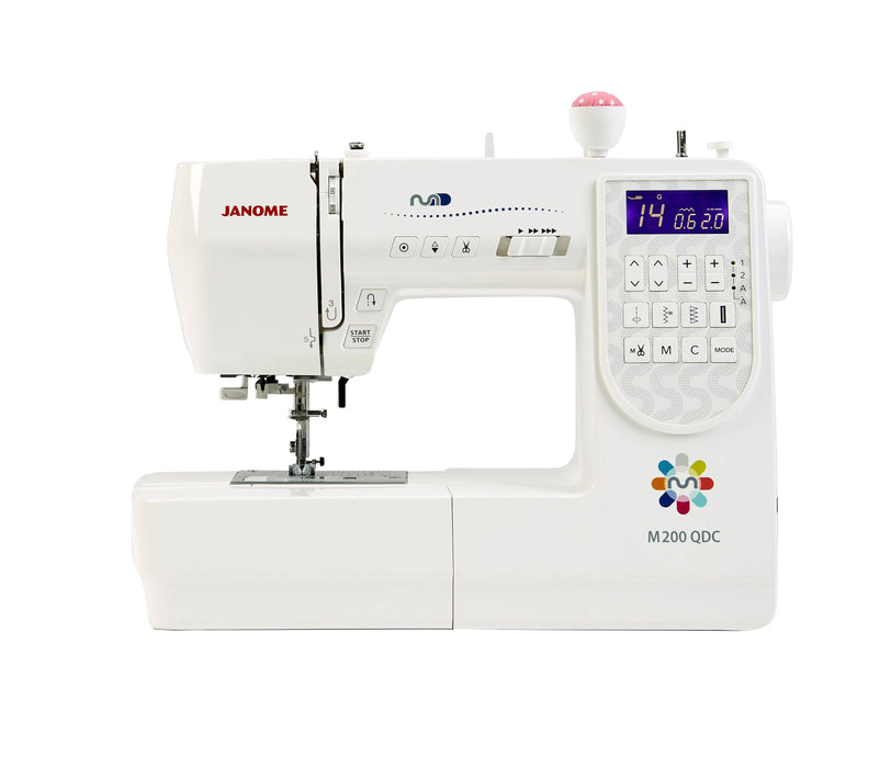Janome M200QDC Sewing Machine - JANUARY PREORDER - The Village Haberdashery