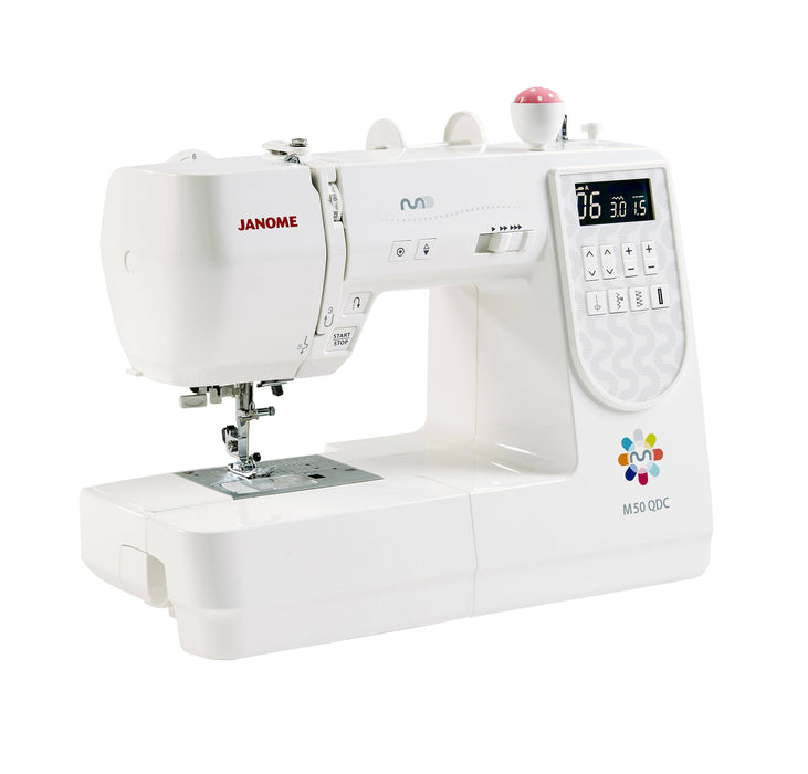Janome M50QDC Sewing Machine - MARCH PRE-ORDER - The Village Haberdashery