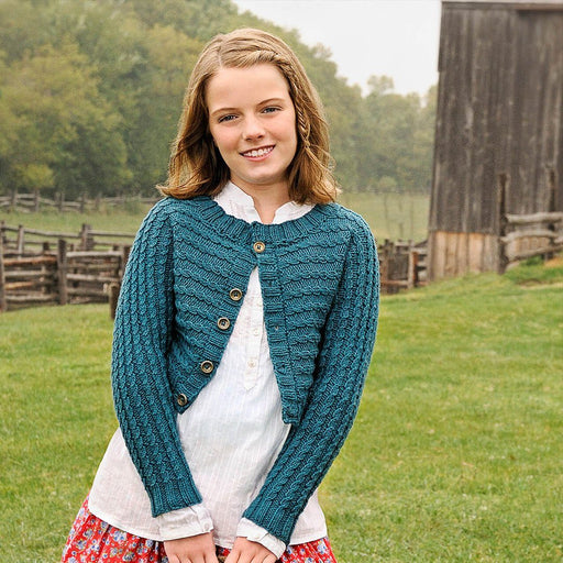 cb7a71be1224d Spud   Chloë - Between Cardigan Knitting Pattern - The Village Haberdashery