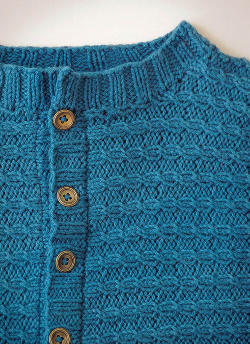 Spud & Chloë - Between Cardigan Knitting Pattern - The Village Haberdashery