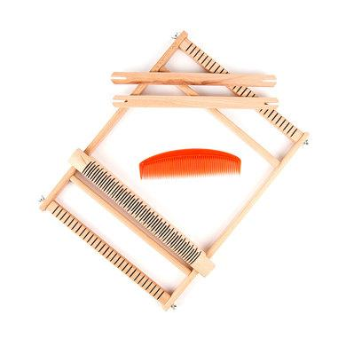 Wooden Weaving Loom - Large - The Village Haberdashery