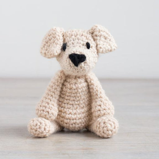 TOFT Mini Crochet Amigurumi Kit: Eleanor the Labrador - The Village Haberdashery