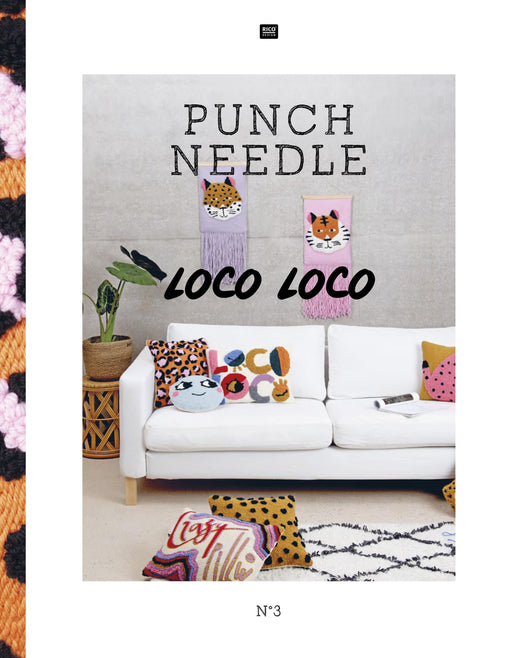 Punch Needle: Loco Loco by Rico - The Village Haberdashery