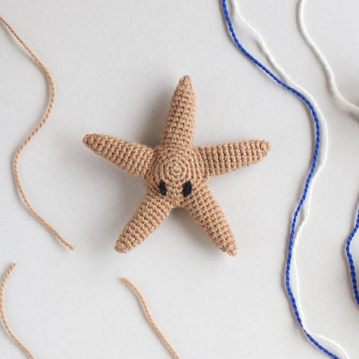 TOFT Mini Crochet Amigurumi Kit: Ringo the Starfish - The Village Haberdashery
