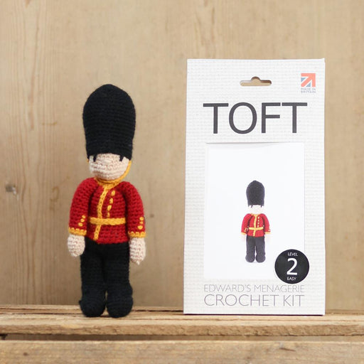 TOFT Crochet Amigurumi Kit: Little Soldier - The Village Haberdashery