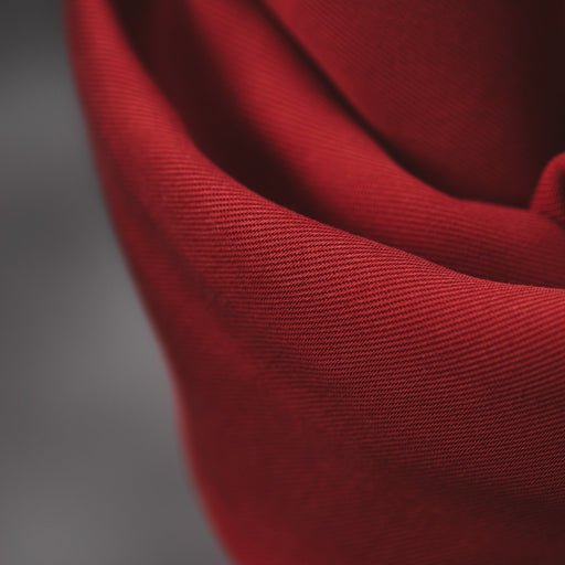 Berry Smooth Drape Twill Made with TENCEL™ Fibres by MeetMilk - The Village Haberdashery