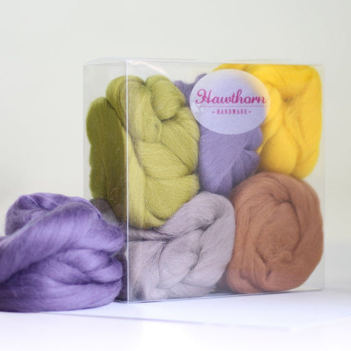 Felting & Spinning Wool - Moorland Merino Bundle - The Village Haberdashery