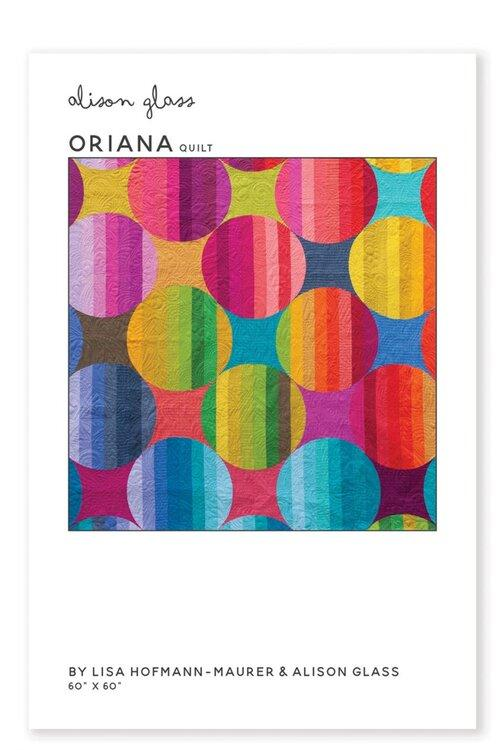 Patterns - Alison Glass Design - Oriana Quilt Pattern