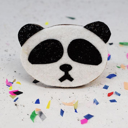 Panda Badge Making Kit by The Make Arcade - The Village Haberdashery