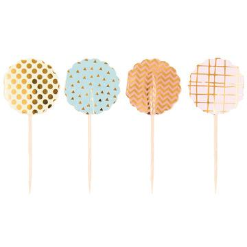 Party Decoration - Cupcake Picks - The Village Haberdashery