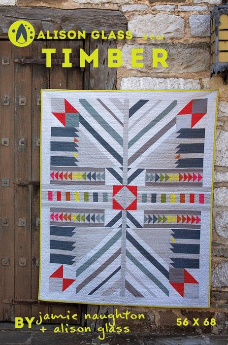 Alison Glass Design - Timber Quilt Pattern - The Village Haberdashery