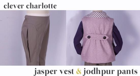 Clever Charlotte - Jasper Vest and Jodhpur Trousers - The Village Haberdashery