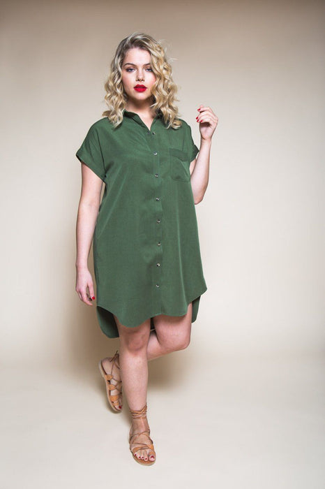 Closet Core Patterns - Kalle Shirt and Shirtdress - The Village Haberdashery