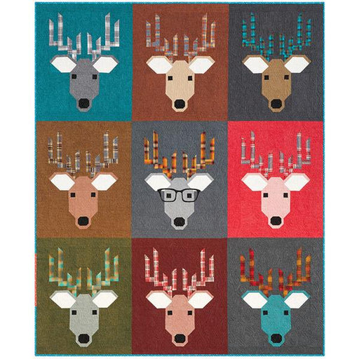 Elizabeth Hartman - Dwight the Deer Quilt Pattern - The Village Haberdashery