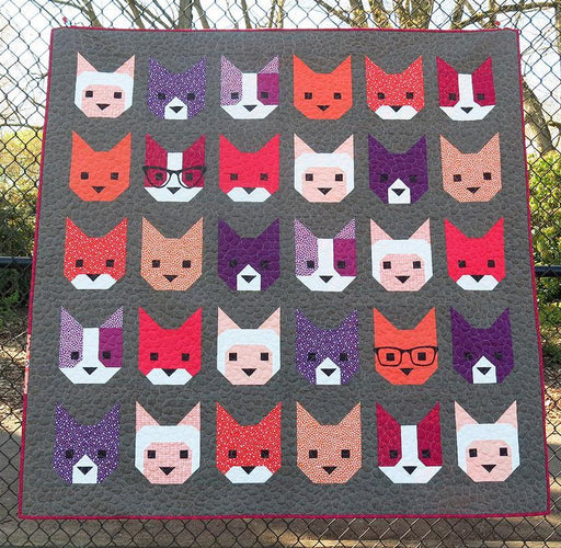 Elizabeth Hartman - The Kittens Quilt Pattern - The Village Haberdashery