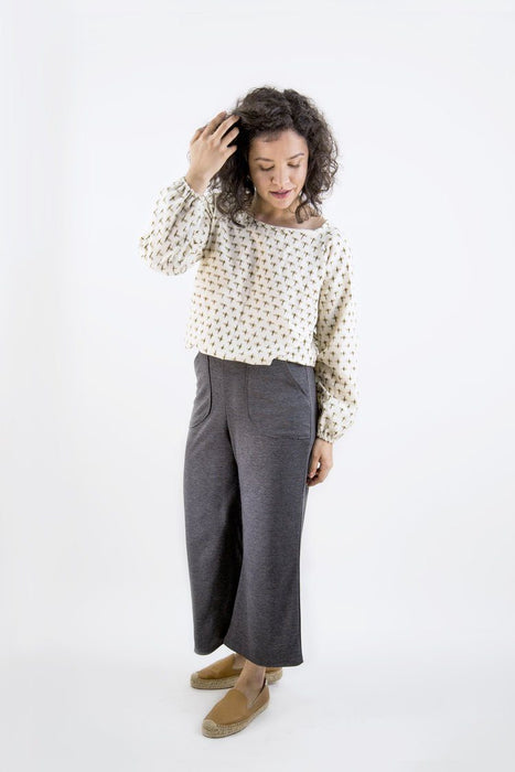 Friday Pattern Company - The Raglan Blouse - The Village Haberdashery