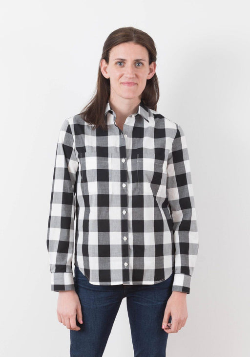 Grainline - Archer Button Up Shirt - The Village Haberdashery