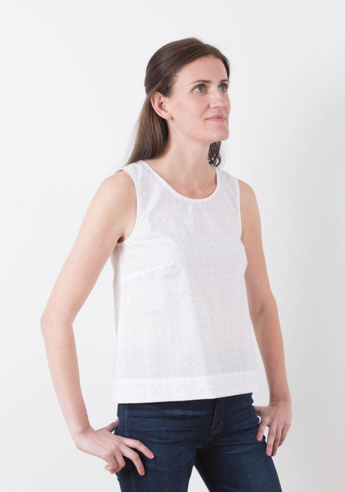 Grainline - Willow Tank and Dress - The Village Haberdashery
