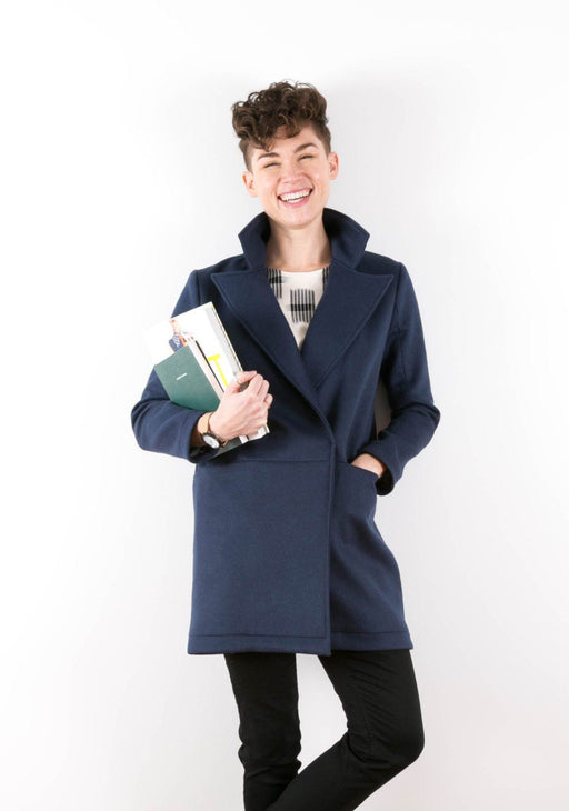 Grainline - Yates Coat - The Village Haberdashery