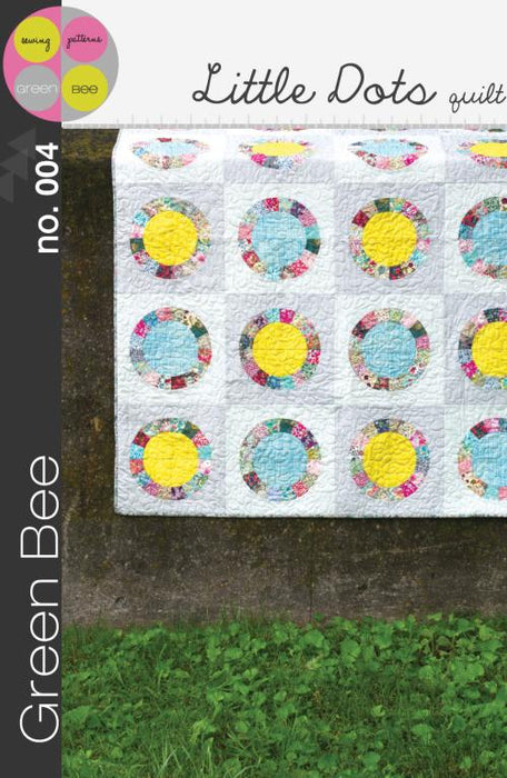 Green Bee Patterns - Little Dots Quilt - The Village Haberdashery
