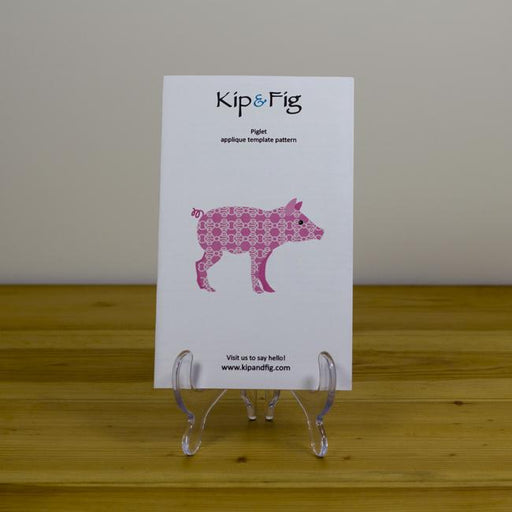 Kip & Fig - Piglet Appliqué Template - The Village Haberdashery