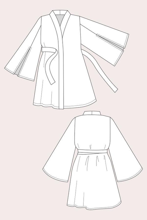 Named - Asaka Robe Dress - The Village Haberdashery
