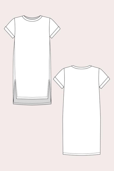 Named - Inari Tee Dress and Cropped Tee - The Village Haberdashery