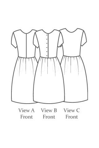 The Avid Seamstress - The Day Dress - The Village Haberdashery