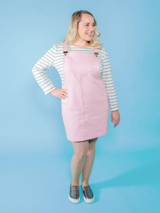 Tilly and the Buttons - Cleo Pinafore and Dungaree Dress - The Village Haberdashery