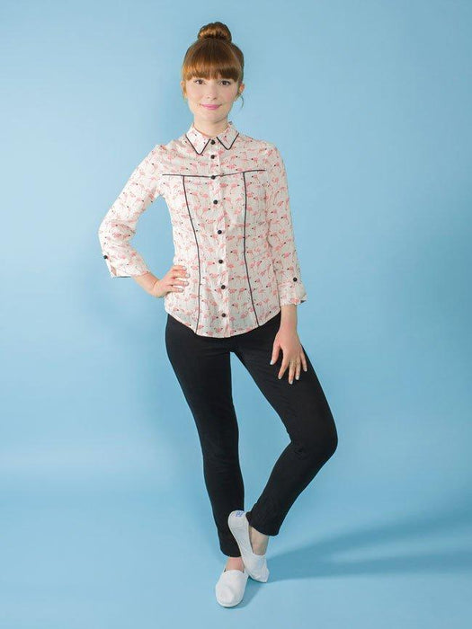 Tilly and the Buttons - Rosa Shirt and Dress - The Village Haberdashery