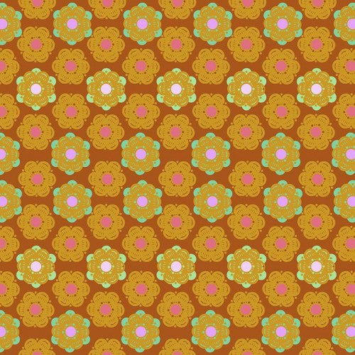Sunset Honeycomb Cotton from Hindsight by Anna Maria Horner - The Village Haberdashery