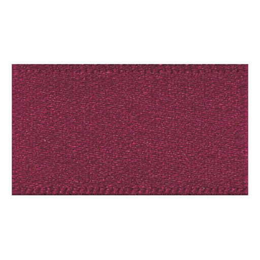 Satin Ribbon - Burgundy - 15mm - The Village Haberdashery