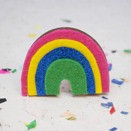 The Make Arcade Cute Badge Making Kit - Rainbow - The Village Haberdashery