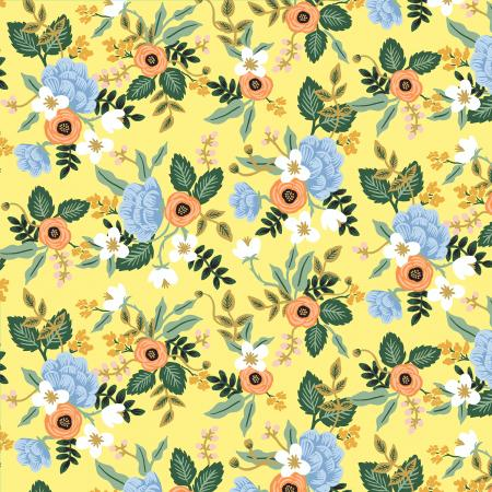 Yellow Birch Cotton from Primavera by Rifle Paper Co for Cotton + Steel - The Village Haberdashery