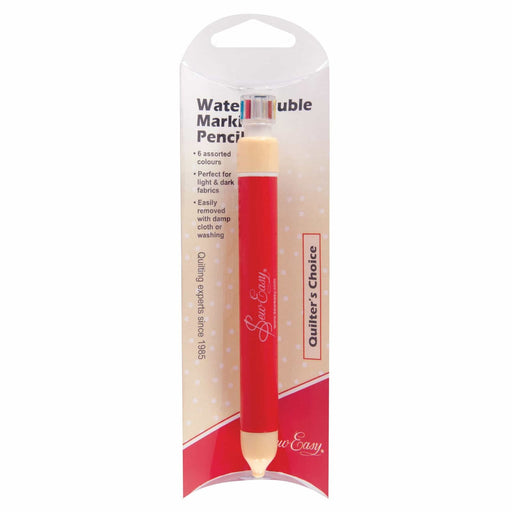 Retractable Pencil - Wash-Out - 6 Colours - The Village Haberdashery