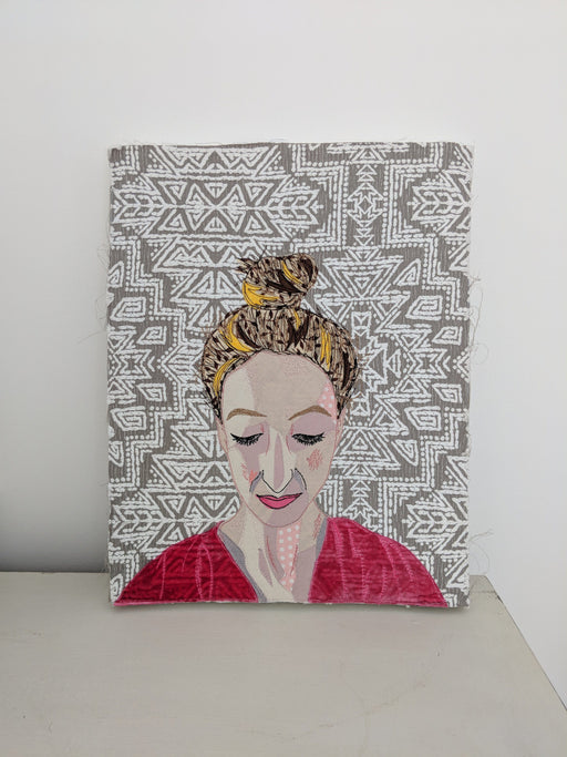 Advanced Freehand Machine Embroidery Portraits with Sophia Palmer - The Village Haberdashery