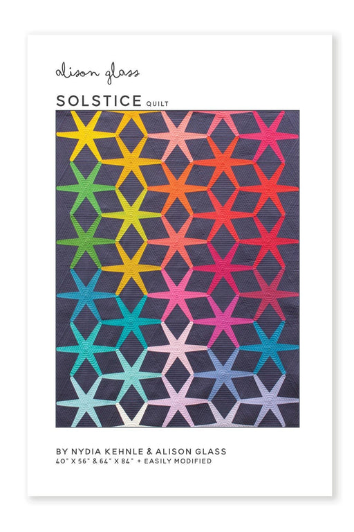 Patterns - Alison Glass Design - Solstice Quilt Pattern