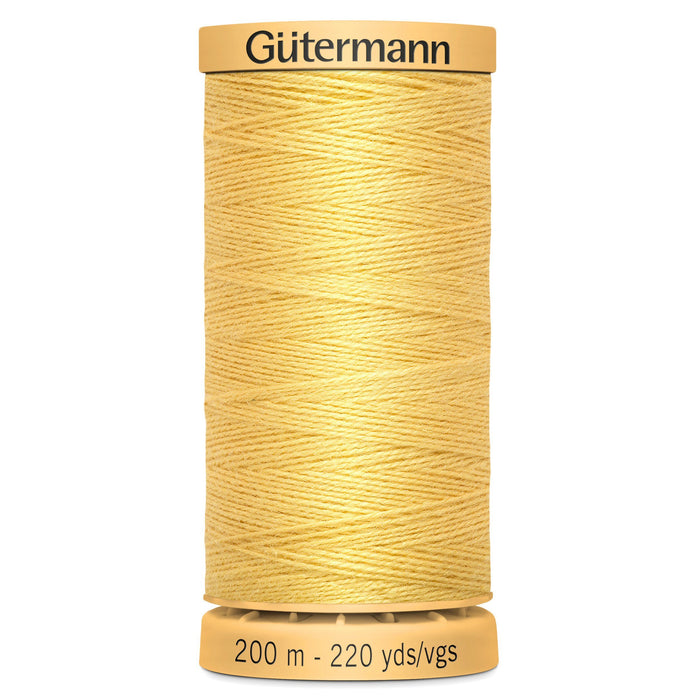 Gutermann Tacking and Basting Thread - Yellow - The Village Haberdashery