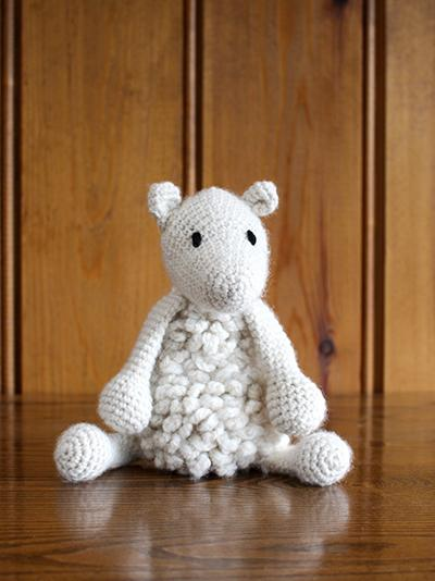 TOFT Crochet Amigurumi Kit: Simon the Sheep - The Village Haberdashery